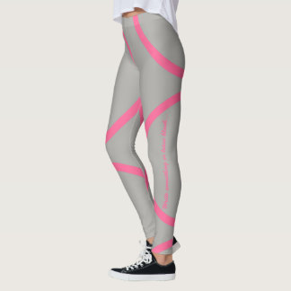 Pink kamon circle leggings