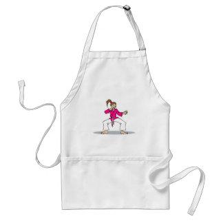 Pink Karate Standard Apron