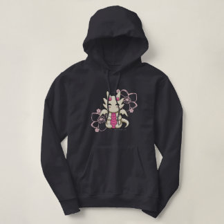 Pink Kawaii Dragon Hoodie