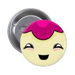 Pink Kawaii Tickle Monster 6 Cm Round Badge