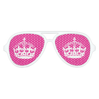 Pink Keep calm party shades for bachelorette