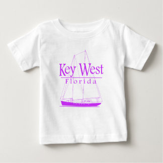 Pink Key West Sailing Baby T-Shirt