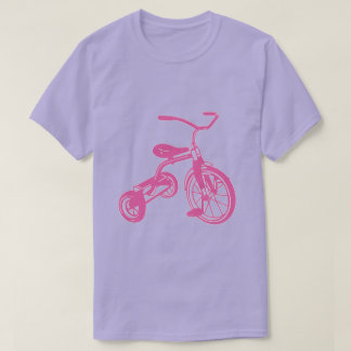 Pink Kid's Tricycle T-Shirt