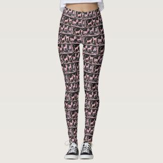Pink Kitties Leggings