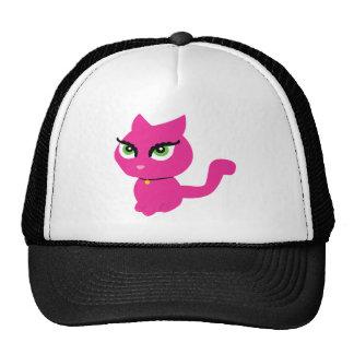 Pink Kitty Cat Cap
