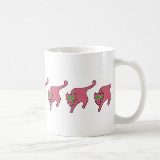 Pink Kitty Coffee Mug