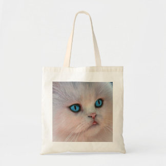 Pink Kitty Drawing Tote