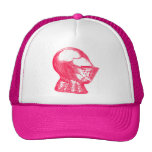 Pink Knight Mediaeval Armour Helmet Knights Cap