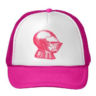 Pink Knight Medieval Armor Helmet Knights Cap