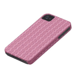 Pink knitted texture knitting BlackBerry case