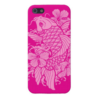 Pink Koi Cases For iPhone 5
