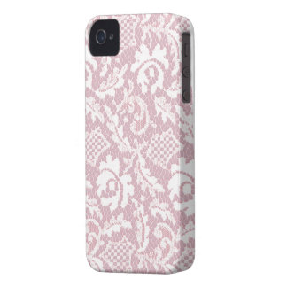 pink lace iphone Case-Mate iPhone 4 case