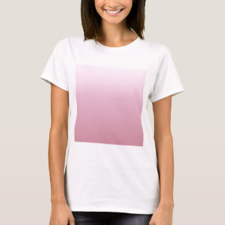 Pink Lace to Puce Horizontal Gradient T-Shirt