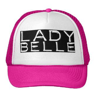 """Pink """"Lady Belle"""" Cap"""
