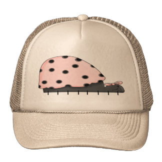 Pink Lady Bug IV Cap