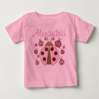 Pink Ladybug Tee Shirts