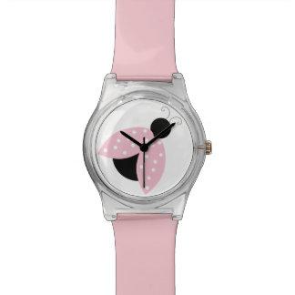 Pink Ladybug Watch