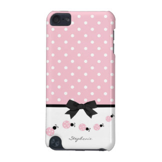 Pink Ladybugs Custom iPod Touch 5G Case