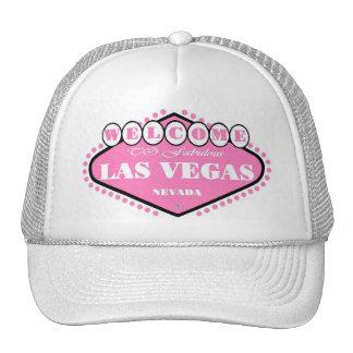 PINK Las Vegas Logo Cap Mesh Hats