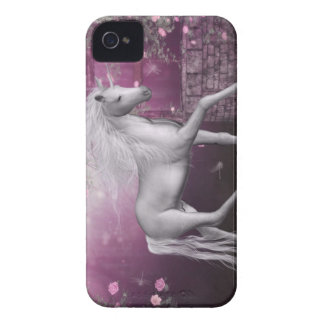 pink last unicorn iPhone 4 cover