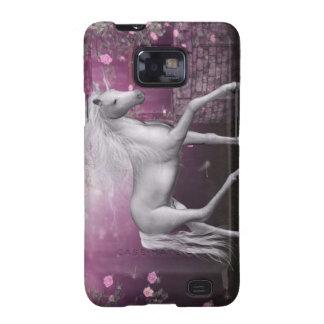 pink last unicorn samsung galaxy s2 case