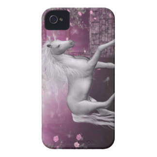 pink last unicorn iPhone 4 case