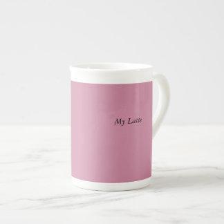 Pink Latte Mug Bone China Mug