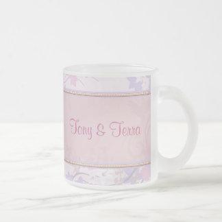 Pink & Lavender Pastel Floral Flowers Mugs