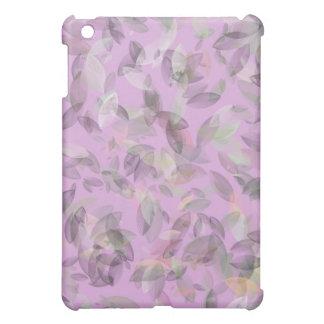 Pink Leaf Design and Pattern iPad Mini Covers