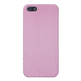 Pink leather iPhone 5 cases