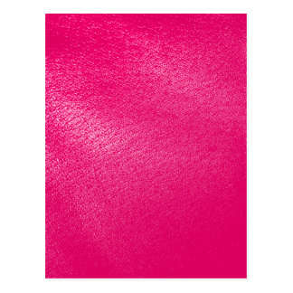 Pink Leather Look Postcard