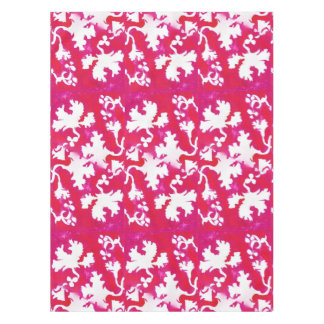 Pink Leaves. Tablecloth