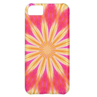 Pink Lemon Lily Flower iPhone 5C Case