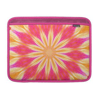 Pink Lemon Lily Flower MacBook Air Sleeve