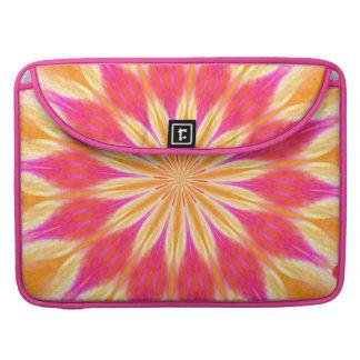 Pink Lemon Lily Flower MacBook Pro Sleeve