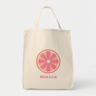 Pink Lemon Slice Bag
