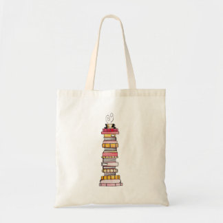 Pink Lemonade Book Stack Tote
