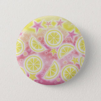 Pink Lemonade button badge