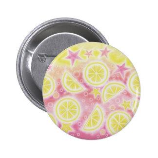 Pink Lemonade button badge