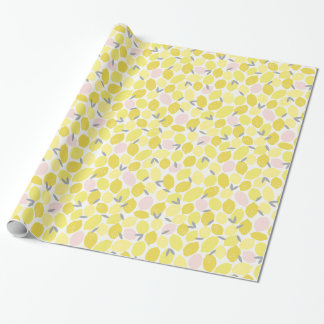 Pink Lemonade by Origami Prints Wrapping Paper