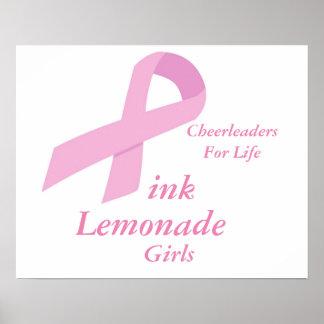 Pink Lemonade Girls Poster