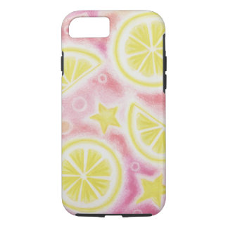 Pink Lemonade 'lemons' iPhone 7 case barely there
