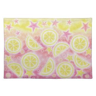 Pink Lemonade placemat