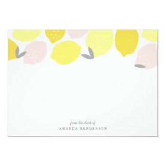 Pink Lemonade Stationery Card