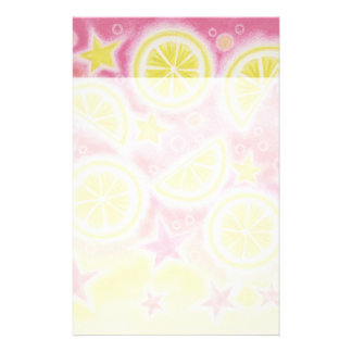 Pink Lemonade stationery header