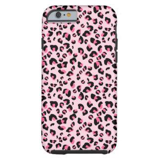 Pink Leopard Animal Pattern Tough iPhone 6 Case