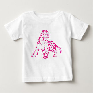 Pink Leopard Baby T-Shirt