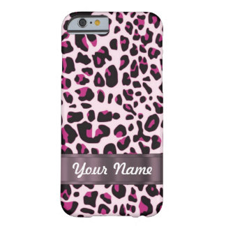Pink leopard barely there iPhone 6 case