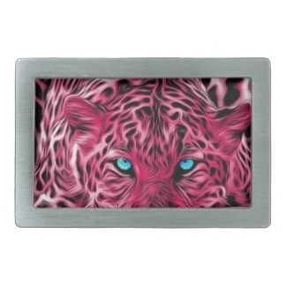 Pink Leopard Belt Buckle