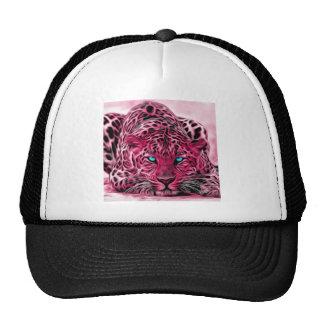 Pink Leopard Cap
